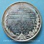 Monnaies Révolution de 1848. Mort Mgr Affre, archevêque. Médaille étain. 40 mm