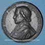 Monnaies Révolution de 1848. Mort Mgr Affre, archevêque. Médaille plomb. 51 mm