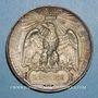 Monnaies Révolution de 1848. Plébiscite pour l'empire. 21 et 22 novembre 1852. Médaille étain