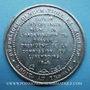Monnaies Révolution de 1848. Rapport sur l'attentat du 15 mai. Médaille alliage coulé. 42 mm