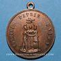 Monnaies Révolution de 1848. Série parisienne de 1849. Médaille cuivre. 31,7 mm