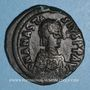 Monnaies Empire byzantin. Anastase (491-518). Follis. Constantinople, 5e officine. 517-518
