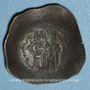 Monnaies Empire Byzantin. Andronic I (1183-1185). Aspron Trachy. Constantinople