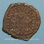Monnaies Empire byzantin. Basile I (867-886). Follis. Constantinople, 868-870