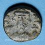 Monnaies Empire byzantin. Constant II (641-668). 1/2 follis. Carthage, 4e émission, 648-658