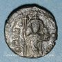 Monnaies Empire byzantin. Constant II (641-668). 1/2 follis. Carthage, 641-643