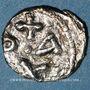 Monnaies Empire byzantin. Constant II (641-668). 1/2 silique. Carthage, 652-657