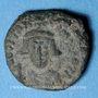 Monnaies Empire byzantin. Constant II (641-668). Décanoummion. Carthage, 2e émission, 643-647