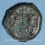 Monnaies Empire byzantin. Héraclius (610-641) et Héraclius Constantin. Dodécanoummion. Alexandrie, 625-629