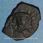 Monnaies Empire byzantin. Héraclius II (641). Follis. Syracuse