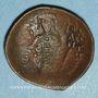 Monnaies Empire byzantin. Isaac II (1185-1195). Trachy de billon