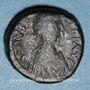 Monnaies Empire byzantin. Justin I (518-527). Pentanoummion. Constantinople, 1ère officine, 522-527