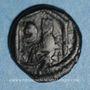 Monnaies Empire byzantin. Justin I & Justinien I (527). Pentanoummion. Antioche