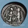Monnaies Empire byzantin. Justin II (565-578). 1/2 follis. Carthage, 574-575