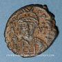 Monnaies Empire byzantin. Justin II (565-578). Décanoummion. Théoupolis (Antioche), 565-566