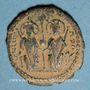 Monnaies Empire byzantin. Justin II (565-578). Décanoummion. Théoupolis (Antioche), 571-572