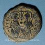 Monnaies Empire byzantin. Justin II (565-578). Follis. Théoupolis (Antioche), 3e officine, 572-573