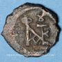 Monnaies Empire byzantin. Justin II (565-578). Pentanoumion. Cyzique, 565-578