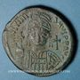 Monnaies Empire byzantin. Justinien I (527-565). 1/2 follis. Constantinople, 1ère officine, 538-539