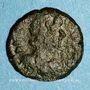 Monnaies Empire byzantin. Justinien I (527-565). 1/2 follis. Salona (?), Dalmatie. 2e moitié du 6e siècle