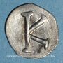 Monnaies Empire byzantin. Justinien I (527-565). 1/3 silique. Constantinople, vers 530