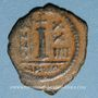 Monnaies Empire byzantin. Justinien I (527-565). Décanoummion. Théoupolis (Antioche), 550-551