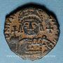 Monnaies Empire byzantin. Justinien I (527-565). Décanoummion. Théoupolis (Antioche), 552-553
