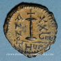 Monnaies Empire byzantin. Justinien I (527-565). Décanoummion. Théoupolis (Antioche), 555-556
