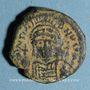 Monnaies Empire byzantin. Justinien I (527-565). Décanoummion. Théoupolis (Antioche), 561-562