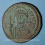 Monnaies Empire byzantin. Justinien I (527-565). Follis. Antioche, 1ère officine, 539-540