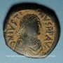 Monnaies Empire byzantin. Justinien I (527-565). Follis. Constantinople, 1ère officine, 527-538