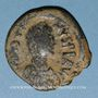 Monnaies Empire byzantin. Justinien I (527-565). Follis. Constantinople, 4e officine, 527-538