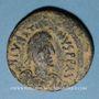 Monnaies Empire byzantin. Justinien I (527-565). Follis. Constantinople, 5e officine, 527-538