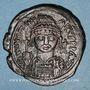 Monnaies Empire byzantin. Justinien I (527-565). Follis. Nicomédie, 1ère officine, 555-556