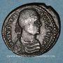 Monnaies Empire byzantin. Justinien I (527-565). Follis. Rome, 538-544
