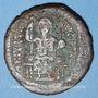 Monnaies Empire byzantin. Justinien I (527-565). Follis. Théoupolis (Antioche), 3e officine, 529-533