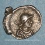 Monnaies Empire byzantin. Justinien I (527-565). Monnayage anonyme. 1/3 silique, à partir de 530