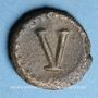Monnaies Empire byzantin. Justinien I (527-565). Pentanoummion. Atelier incertain, Sicile(?), 540-565