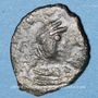 Monnaies Empire byzantin. Justinien I (527-565). Pentanoummion. Constantinople, 1ère officine, 543-565