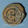 Monnaies Empire byzantin. Justinien I (527-565). Pentanoummion. Théoupolis (Antioche), 1ère officine, 529-539