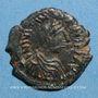 Monnaies Empire byzantin. Justinien I (527-565). Pentanoummion. Théoupolis (Antioche), 1ère officine, 551-556