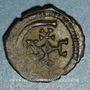 Monnaies Empire byzantin. Justinien I (527-565). Pentanoummion. Théoupolis (Antioche), 1ère officine, 561-565