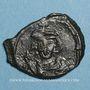 Monnaies Empire byzantin. Justinien II, 1er règne (685-695). 1/2 follis. Constantinople, 685-686