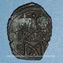Monnaies Empire byzantin. Léon IV (775-780). Follis. Constantinople, 776-778