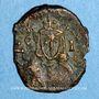 Monnaies Empire byzantin. Léon V (813-820). Follis. Syracuse