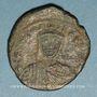 Monnaies Empire byzantin. Leon VI (886-912). Follis. Constantinople, 886-912