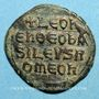 Monnaies Empire byzantin. Léon VI (886-912). Follis. Constantinople, 886-912
