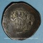 Monnaies Empire byzantin. Manuel I Commène (1143-1180). Trachy de billon. Constantinople