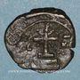 Monnaies Empire byzantin. Manuel I Comnène (1143-1180). 1/2 tétartéron. Atelier grec incertain