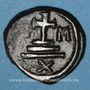 Monnaies Empire byzantin. Maurice Tibère (582-602). Décanoummion. Carthage, 587/588 ou 602